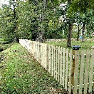 4-FT Picket Fence  C&C Fencing 2