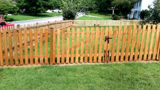 4-FT Picket Fence  C&C Fencing 6