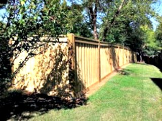 Canyon Winds Privacy Fence C&C Fencing 1
