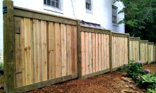 Canyon Winds Privacy Fence C&C Fencing 4