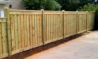 Canyon Winds Privacy Fence C&C Fencing 5