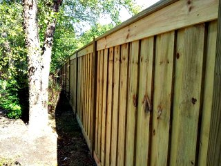 Canyon Winds Privacy Fence C&C Fencing 8