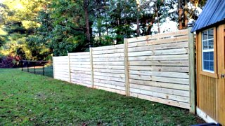 Horizontal Fence C&C Fencing 2